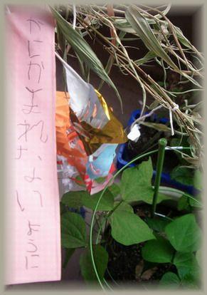 七夕の願い^^;