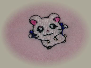 リボンちゃん刺繍