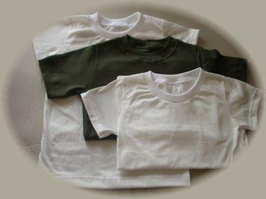 シャツ3枚白・緑