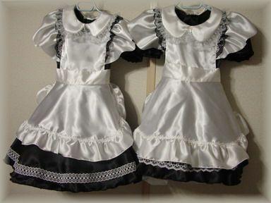 メイド服二枚表