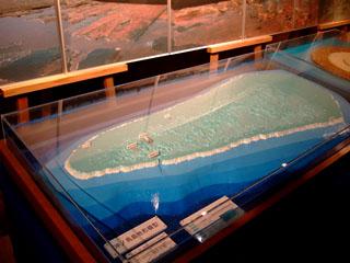 沖ノ鳥島模型
