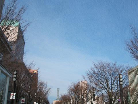 20081213富山駅北からの雲
