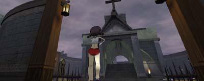 幽霊墓場とミリィ