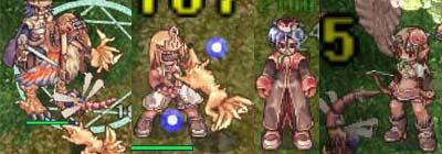 狐とトンボ