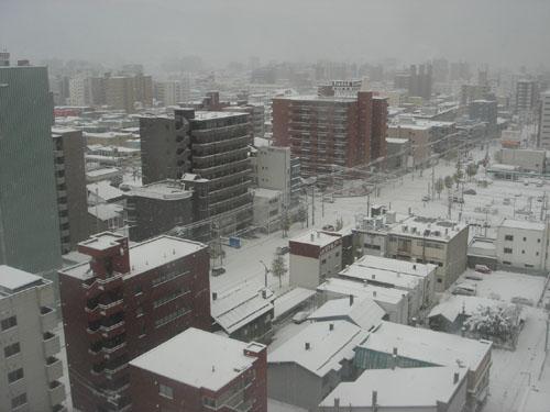 札幌雪景色