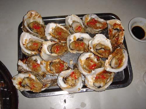 牡蠣できあがり