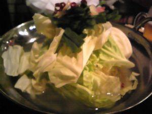 塩モツ鍋2