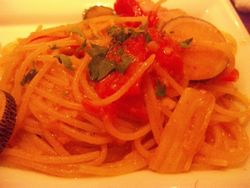 野菜ペペロンチーノ