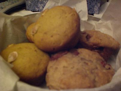 Pumpkin  Strawberry Muffins