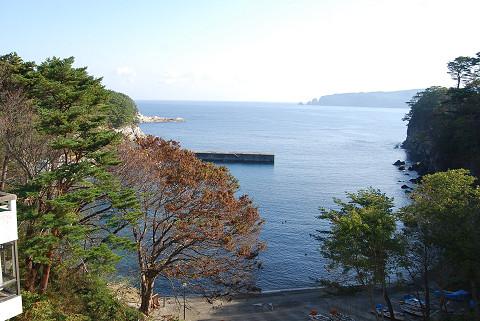 浄土ヶ浜の景色1