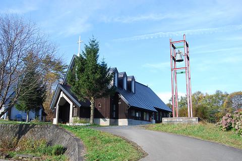 奥中山教会礼拝堂1