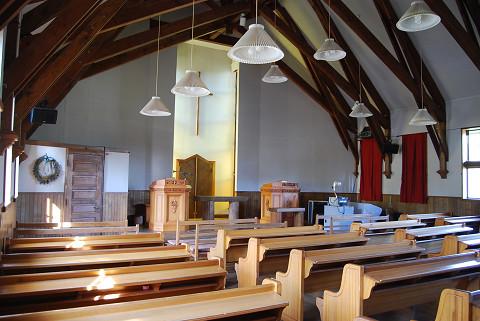 奥中山教会礼拝堂2