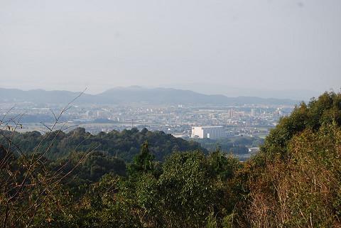 応山居から見る岡崎の街
