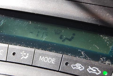 マイナス11℃
