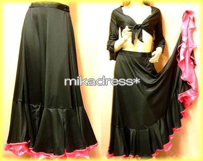 フラメンコの衣装スカート・ファルダ