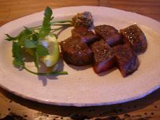 2008.6.9 料理 ステーキ