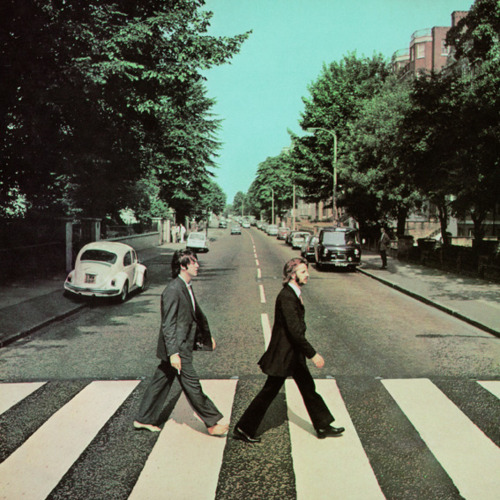 abbey road paul and ringo