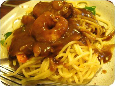 七福カレースパゲテイ