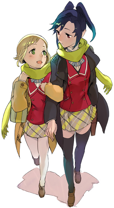 シオンと雛菊