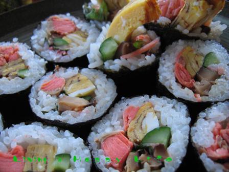 鮭の巻き寿司です