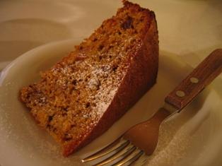 にんじんのケーキ