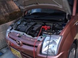 車のバッテリ