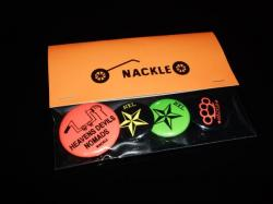 NACKLEオリジナル缶バッジ