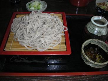 五介和紙の蕎麦
