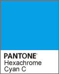 ディスプレイマニアックス Pantone Hexachrome CyanC ってこんな色