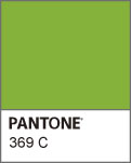 Pantone 369C http://dailydisplay.blog32.fc2.com/blog-entry-467.html