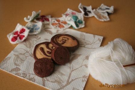 クッキーとモチーフ