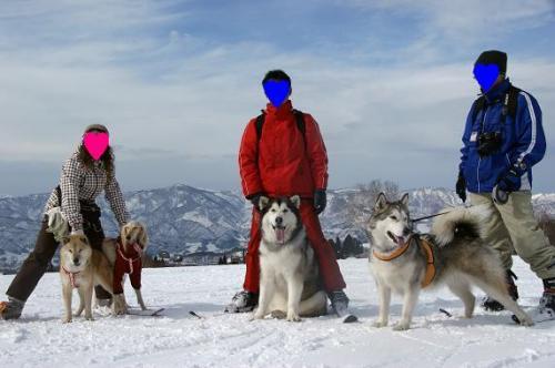 スキー天国へ~♪15