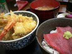天丼&マグロ丼