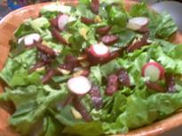 赤カブ等のサラダ