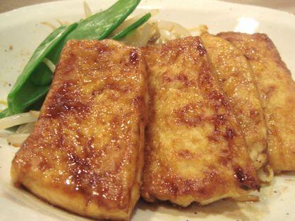 豆腐の照焼