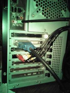 ビデオキャプチャーボード設置2