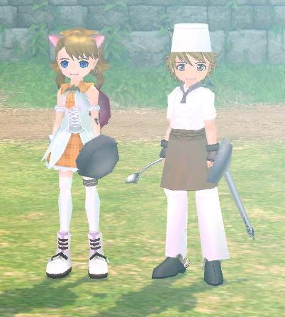 戦う料理人