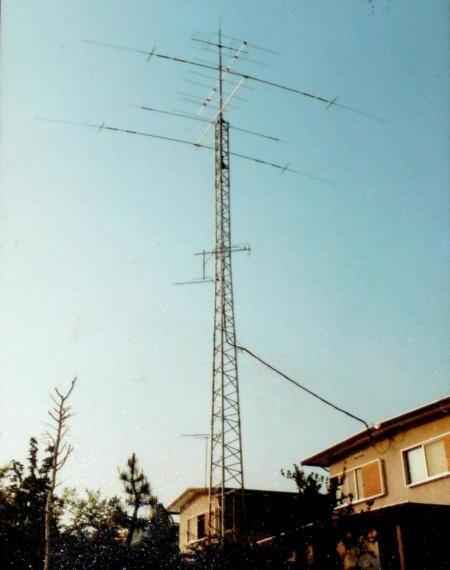 アマ無線アンテナ