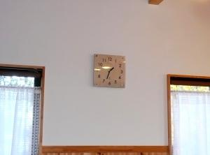 M子宅時計付け