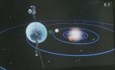 ボイジャー海王星外へ