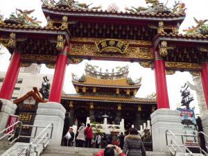 中華街の寺