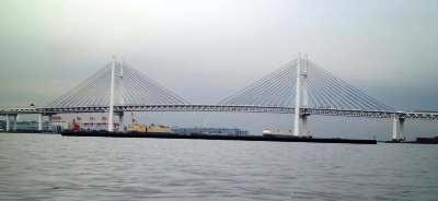 船からのレインボーブリッジ