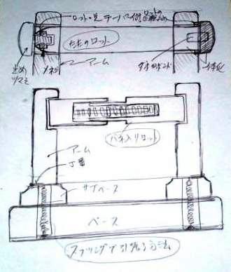 ロッドの構想図