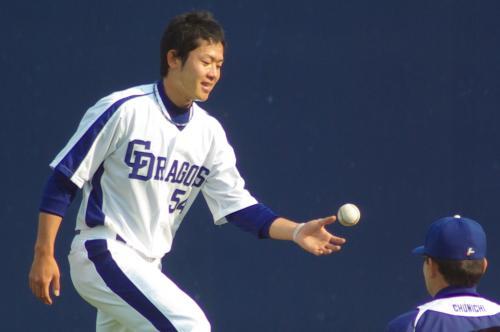 20080429_試合後に下半身トレーニングをする赤坂和幸