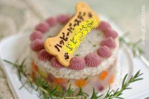 e-dogCafe's cake