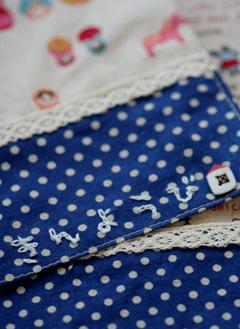 ランチョンマット刺繍