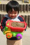砂いっぱい。