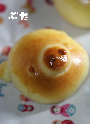どうぶつパン-ぶた