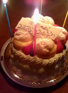 5歳の誕生日ケーキ