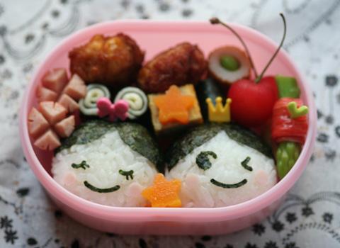 七夕のお弁当